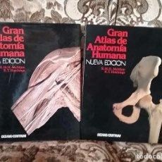 Gran atlas de anatomía humana, de McMinn y Hutchings (2 tomos). Océano, nueva edición.