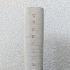 Libros de segunda mano: CROMOSOMA X REVISTA DE LA GENERACIÓN Y SEXOLOGÍA 10 NÚMEROS 11 A 20 ENCUADERNADOS 1966 SEXUALIDAD. Lote 81083900