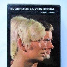 Libros de segunda mano: EL LIBRO DE LA VIDA SEXUAL. LOPEZ IBOR. Lote 81344896
