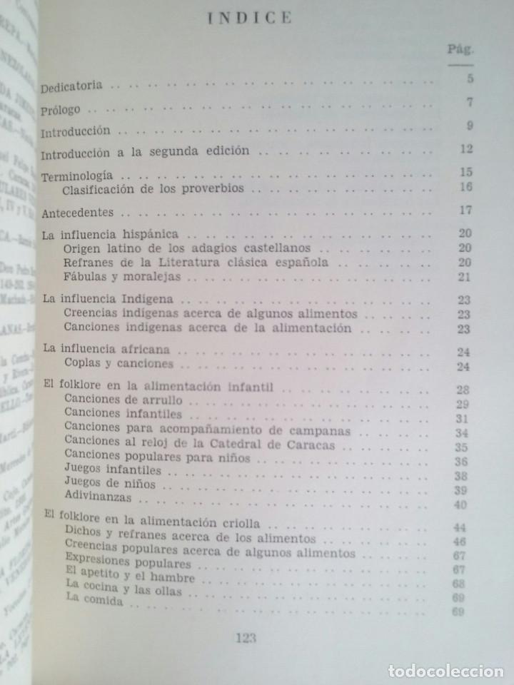 Libros de segunda mano: El folklore en la alimentación venezolana - Dr. Fermín Vélez Boza - Foto 2 - 82297892