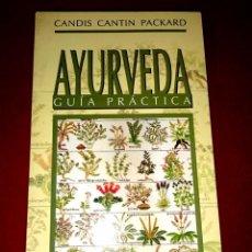 Libros de segunda mano: AYURVEDA GUIA PRÁCTICA. Lote 82536116