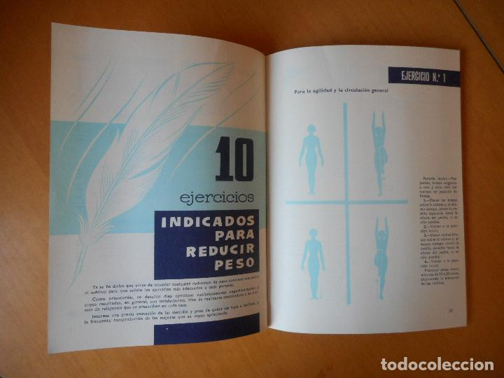 Libros de segunda mano: El equilibrio de la salud. Libro de salud editado por Galletas Artiach, S.A. 36 páginas. Año 1959 - Foto 4 - 83637940