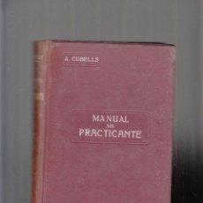 Libros de segunda mano: MANUAL DEL PRACTICANTE, TOMO I, ANATOMÍA. 1.943. Lote 84735984