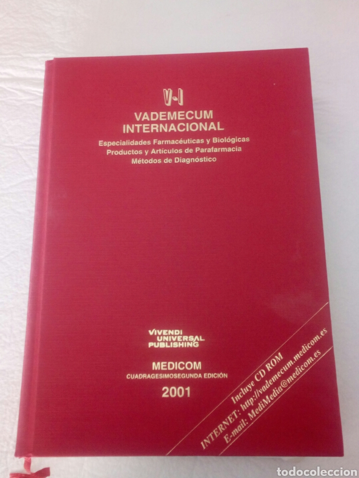 Libros de segunda mano: Vademecum Internacional. Edición 2001. - Foto 2 - 85915830