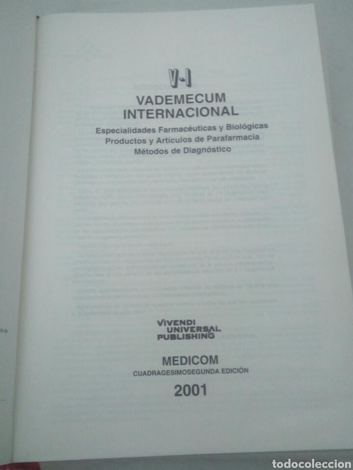 Libros de segunda mano: Vademecum Internacional. Edición 2001. - Foto 4 - 85915830