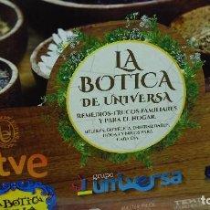 Libros de segunda mano: LA BOTICA DE UNIVERSA - EDICION LIMITADA - NUEVA A ESTRENAR. Lote 86483396