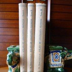Libros de segunda mano: ATLAS DE ANATOMIA HUMANA - WERNER SPALTEHOLZ - 3 TOMOS - EDITORIAL LABOR - 1967. Lote 86739788
