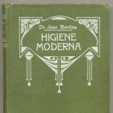 Libros de segunda mano: HIGIENE MODERNA - DR. JUAN BARDINA. Lote 87050568