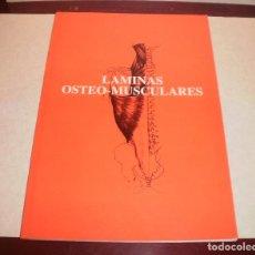 Libros de segunda mano: LIBRO. LÁMINAS OSTEO-MUSCULARES. LABORATORIOS ALMIRALL, 1987, CASI NUEVO, 28 LÁMINAS. Lote 87186820