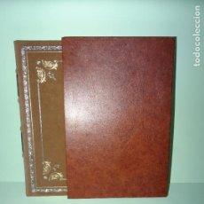Libros de segunda mano: ANTIDOTARIUM DE ARNAU DE VILANOVA EDICIÓN ENCUADERNACIÓN DE LUJO - AÑO 1985. Lote 87446808