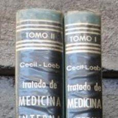Libros de segunda mano: TRATADO DE MEDICINA INTERNA. CECIL LOEB. BEESON MCDERNOTT. DOS TOMOS.. Lote 87501724