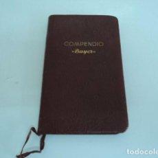 Libros de segunda mano: MAGNIFICO LIBRO MEDICINA ANTIGUO COMPENDIO BAYER 1938 50 AÑOS PRODUCTOS BAYER NAVIDAD 1937 COMPLETO. Lote 88150500