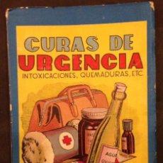 Libros de segunda mano: CURAS DE URGENCIA, MANUALES CISNE.. Lote 88765652