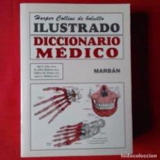 Libros de segunda mano: HARPER COLLINS DE BOLSILLO, DICCIONARIO MEDICO ILUSTRADO EDIT. MARBAN 2006. Lote 89291516