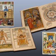 Libros de segunda mano: COMPENDIO DE MEDICINA. JUAN DE KETCHAM. VENECIA 1500. Lote 89385972