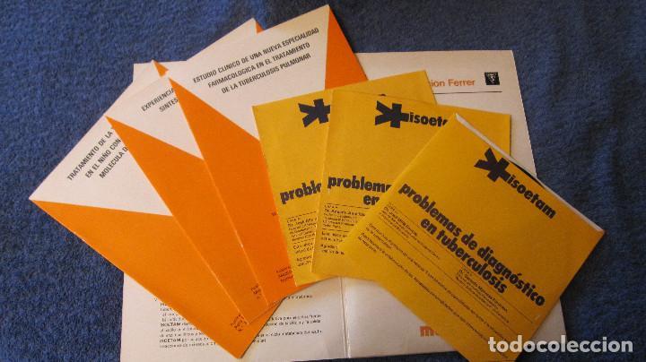 Libros de segunda mano: MUY BUSCADO CATALOGO DE MOLECULA ANTITUBERCULOSA. 1975.CON 3 DISCOS SENCILLOS. MUY ESPECIAL Y RARO - Foto 2 - 89443980