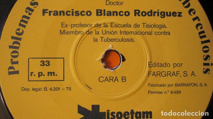 Libros de segunda mano: MUY BUSCADO CATALOGO DE MOLECULA ANTITUBERCULOSA. 1975.CON 3 DISCOS SENCILLOS. MUY ESPECIAL Y RARO - Foto 5 - 89443980