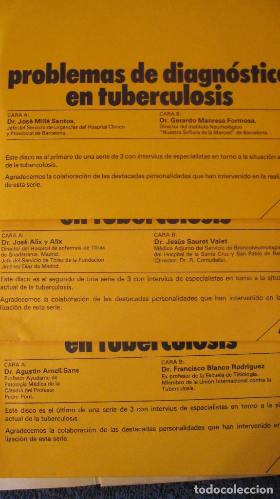 Libros de segunda mano: MUY BUSCADO CATALOGO DE MOLECULA ANTITUBERCULOSA. 1975.CON 3 DISCOS SENCILLOS. MUY ESPECIAL Y RARO - Foto 8 - 89443980