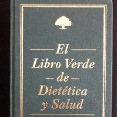Libros de segunda mano: EL LIBRO VERDE DE DIETÉTICA Y SALUD / SANTIVERI / 1996. Lote 193765048