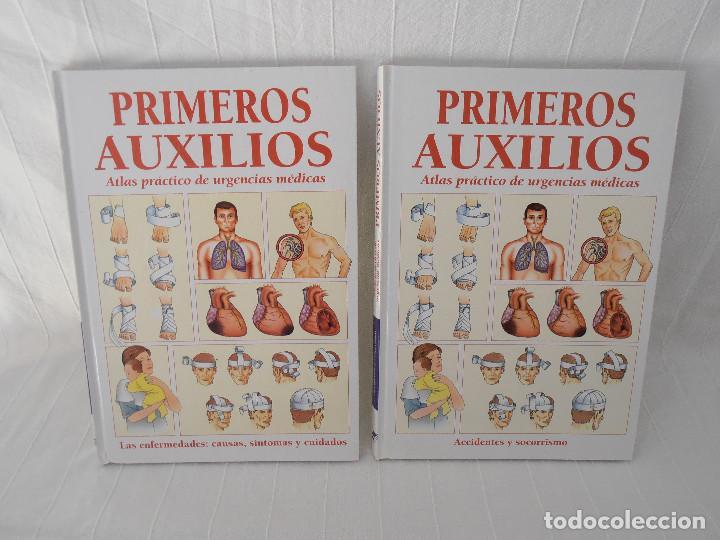 ATLAS URGENCIAS PRIMEROS AUXILIOS - 2 LIBROS (Libros de Segunda Mano - Ciencias, Manuales y Oficios - Medicina, Farmacia y Salud)