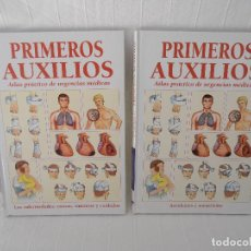 Libros de segunda mano: ATLAS URGENCIAS PRIMEROS AUXILIOS - 2 LIBROS. Lote 89753872