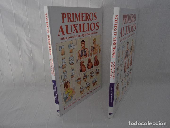 Libros de segunda mano: ATLAS URGENCIAS PRIMEROS AUXILIOS - 2 libros - Foto 2 - 89753872