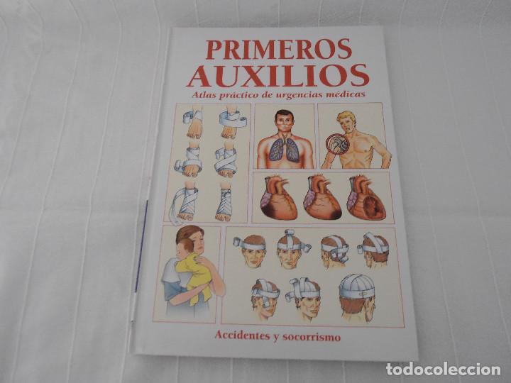 Libros de segunda mano: ATLAS URGENCIAS PRIMEROS AUXILIOS - 2 libros - Foto 3 - 89753872