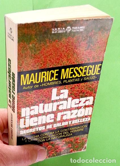Libros de segunda mano: La naturaleza tiene razón - Maurice Messegué - Foto 4 - 90089552