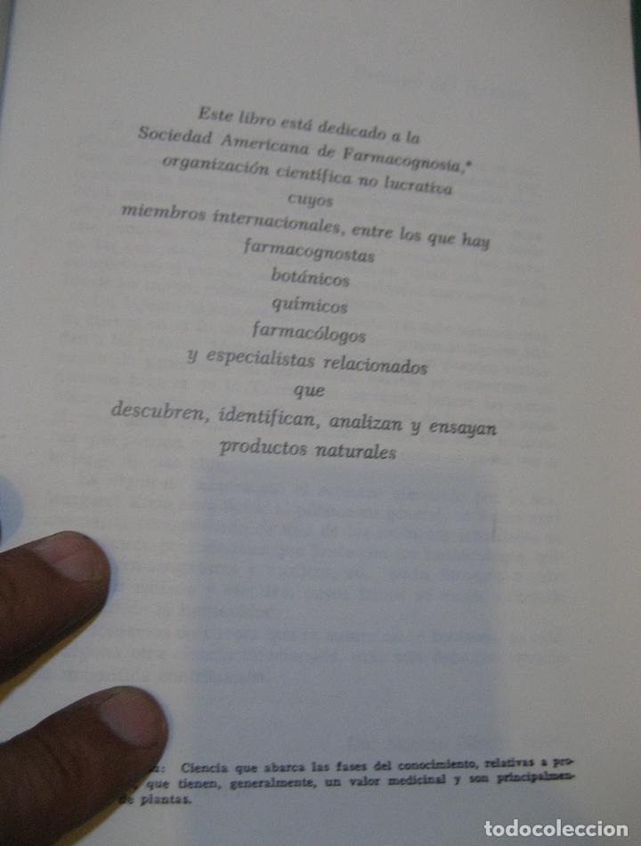 Libros de segunda mano: MEDICINA VERDE - MARGARET B. KREIG - LA BUSQUEDA DE LAS PLANTAS QUE CURAN - RARO.envío certif 9 - Foto 6 - 177088528