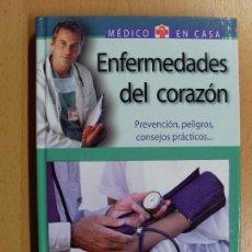 Libros de segunda mano: ENFERMEDADES DEL CORAZÓN / DR. GREGORIO JESÚS PALACIOS / 2003. Lote 90230976