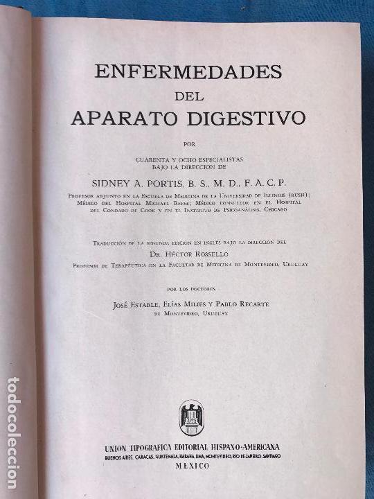 Libros de segunda mano: Enfermedades del aparato digestivo - Portis, Sidney A. - - Foto 3 - 90724030
