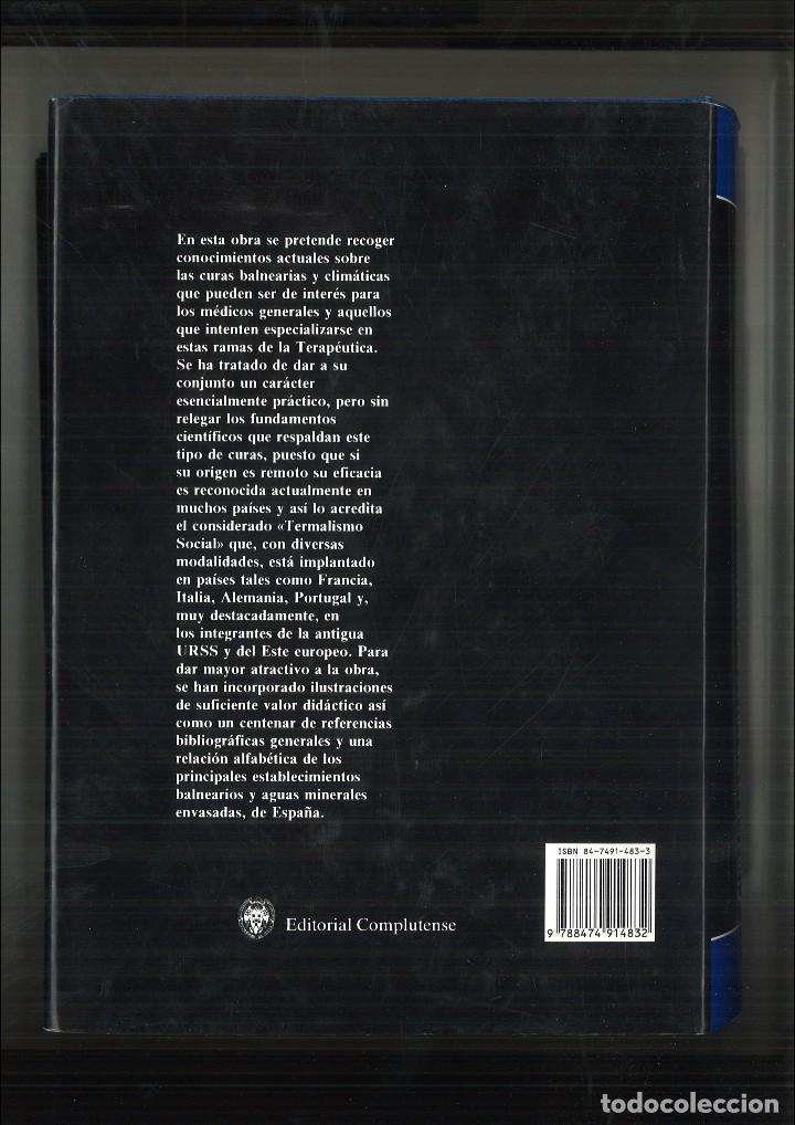 Libros de segunda mano: CURAS BALNEARIAS Y CLIMÁTICAS. TALASOTERAPIA Y HELIOTERAPIA. Manuel Armijo y Josefina San Martín - Foto 3 - 91375580