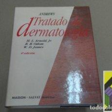 Libros de segunda mano: ARNOLD, H.L./ ODOM, R.B./ JAMES, W.D.: ANDREWS. TRATADO DE DERMATOLOGÍA (TRAD:FERNANDO FONTÁN). Lote 91903195