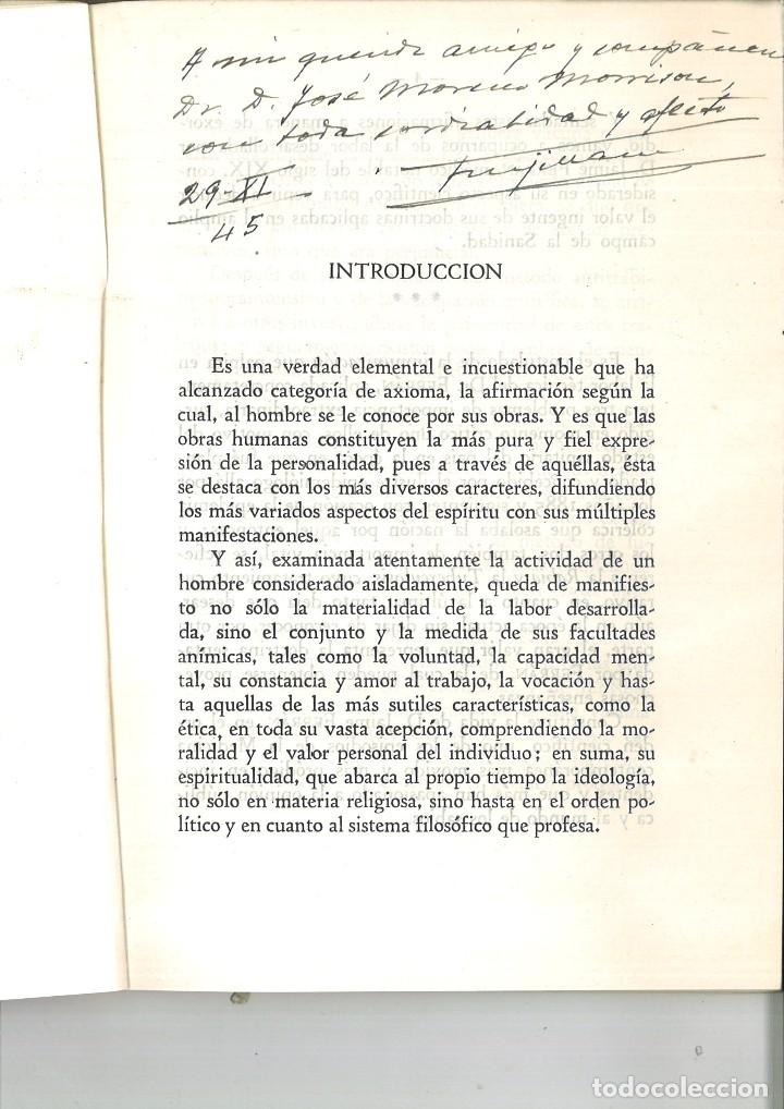 Libros de segunda mano: FERRÁN SU OBRA SANITARIA. Dr. U. Trujillano Izquierdo - Foto 2 - 92802225