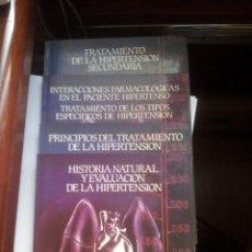 Libros de segunda mano: TRATAMIENTO DE LA HIPERTENSION. Lote 92975130