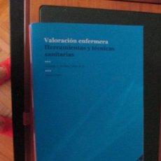 Libros de segunda mano: VALORACION ENFERMERA. Lote 93132080