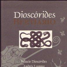Livros em segunda mão: BESTIARIO DE DIOSCORIDES. VARIOS. MEDUSA ED. 2001. Lote 103530446