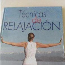 Libros de segunda mano: LIBRO TÉCNICAS DE RELAJACIÓN. GRUPO CULTURAL. Lote 93922765