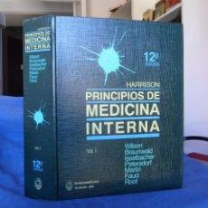 Libros de segunda mano: PRINCIPIOS DE MEDICINA INTERNA VOLUMEN I. HARRISON.. Lote 95155971