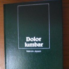 Libros de segunda mano: DOLOR LUMBAR. Lote 95227819