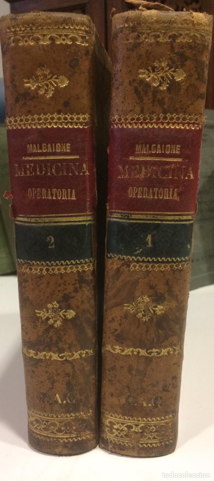 MEDICINA OPERATORIA IYII J.F MALGAIGNE 8 EDICIÓN (Libros de Segunda Mano - Ciencias, Manuales y Oficios - Medicina, Farmacia y Salud)