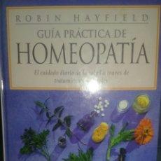 Libros de segunda mano: LIBRO - GUÍA PRÁCTICA DE HOMEOPATÍA. Lote 95381711