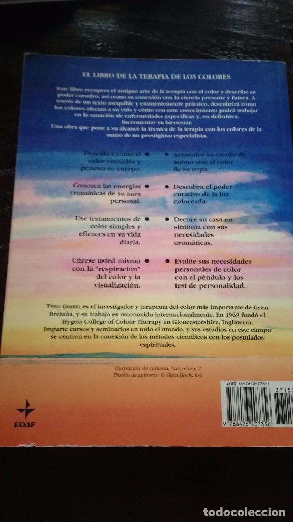 la terapia de los colores-theo gimbel - Comprar Libros de medicina ...