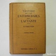 Libros de segunda mano: TRATADO DE LAS ENFERMEDADES DEL LACTANTE. H. FINKELSTEIN. 3A EDICIÓN ED. LABOR 1941. Lote 96698375