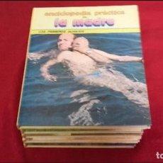 Libros de segunda mano: ENCICLOPEDIA PRACTICA DE LA MADRE COMPLETA 8 TOMOS - ED. NUEVA LENTE - CARTONÉ. Lote 97190703