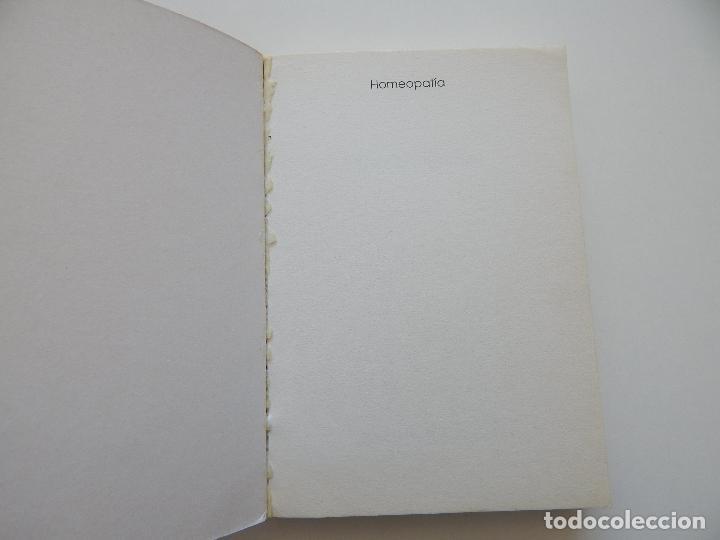 Libros de segunda mano: Homeopatía Guía para una automedicación sin riesgos - Julius Weimar - Foto 6 - 97387555