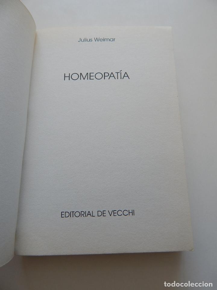 Libros de segunda mano: Homeopatía Guía para una automedicación sin riesgos - Julius Weimar - Foto 7 - 97387555