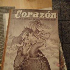 Libros de segunda mano - El corazón - curación o mejoría de sus enfermedades Dr. Vander (1945). 130 páginas. - 98031211