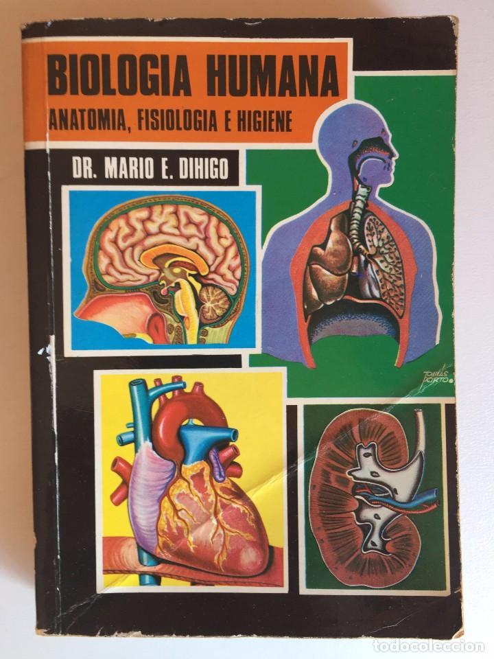 BIOLOGÍA HUMANA (ANATOMÍA, FISIOLOGÍA E HIGIENE) (Libros de Segunda Mano - Ciencias, Manuales y Oficios - Medicina, Farmacia y Salud)