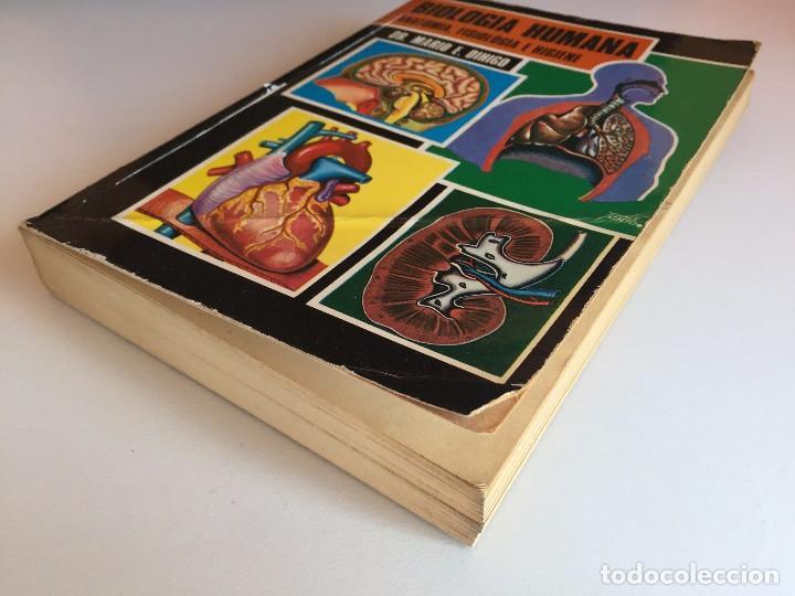 Libros de segunda mano: BIOLOGÍA HUMANA (Anatomía, fisiología e higiene) - Foto 4 - 98137439